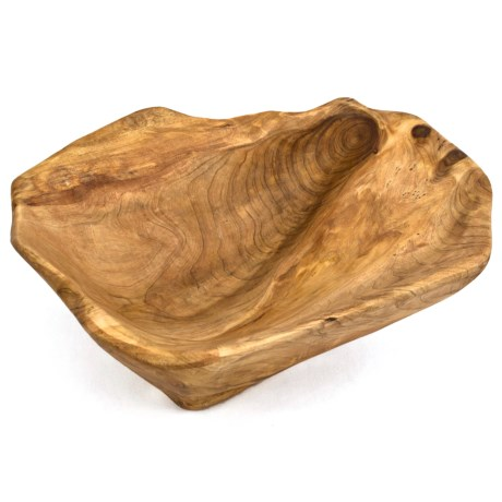 Bambeco Root Wood Bowl - Medium