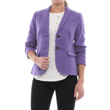 Specially made Three-Pocket Wool Blazer (For Women)