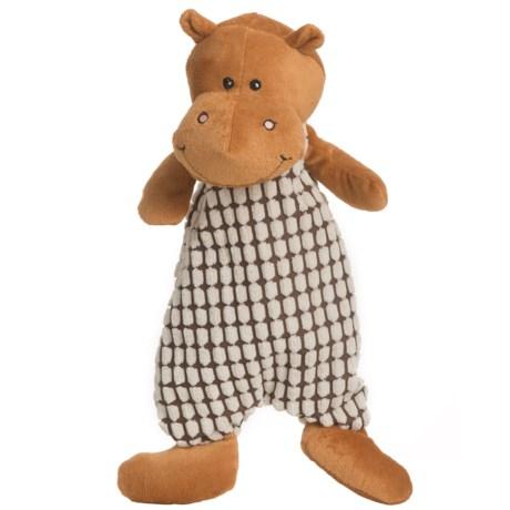 Nandog My BFF Stuffingless Hippo Dog Toy - Squeaker