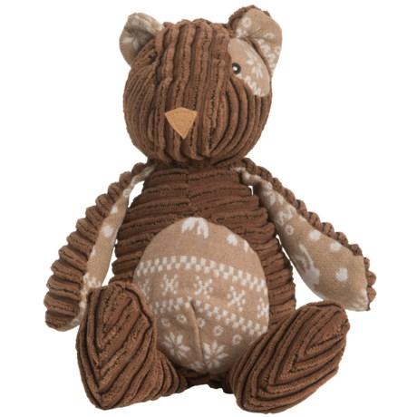 Nandog My BFF Plush Bear Dog Toy - Squeaker