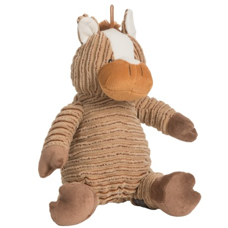 Nandog My BFF Corduroy Cow Dog Toy - Squeaker