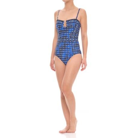 La Blanca Bandeau One-Piece Swimsuit (For Women)