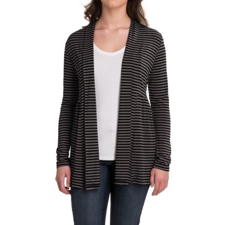 Yala Karina Open-Front Cardigan Shirt - Long Sleeve (For Women)