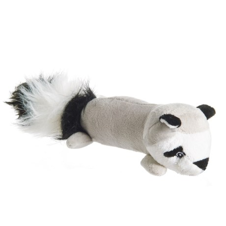 Pet Lou EZ Raccoon Dog Toy - Squeaker