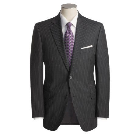 Jack Victor Track Stripe Suit - Worsted Wool (For Men)