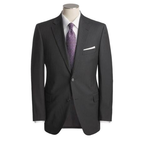Jack Victor Track Stripe Suit - Worsted Wool (For Men)