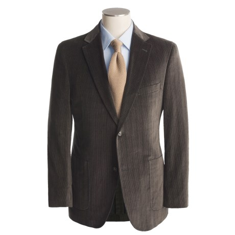 Jack Victor Soft Construction Chevron Sport Coat - Cotton (For Men)