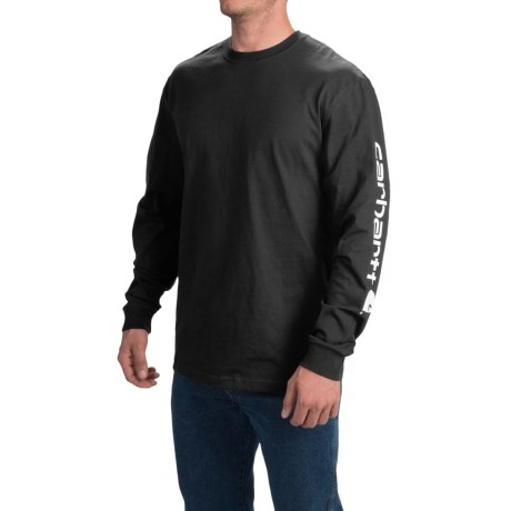 Carhartt Graphic T-Shirt - Long Sleeve (For Tall Men)