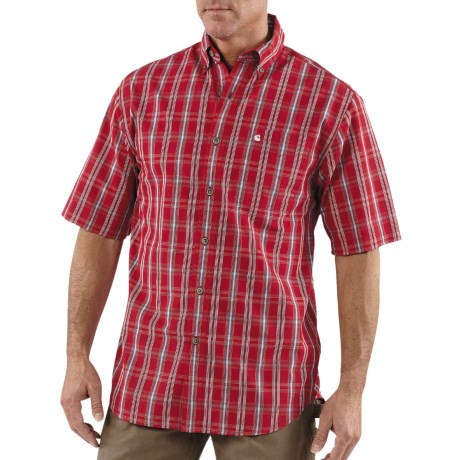 For Broad Shoulders Carhartt Classic Plaid Shirt
