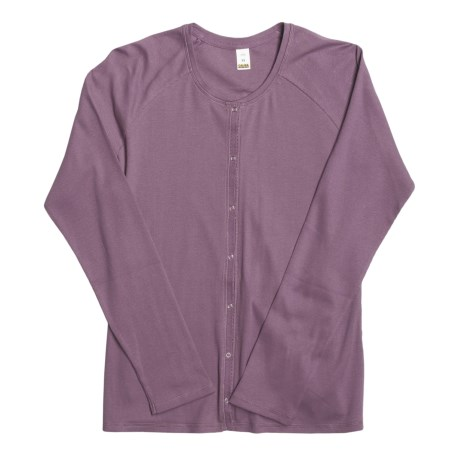 Calida Mix and Match Lounge Jacket - Cotton (For Women)