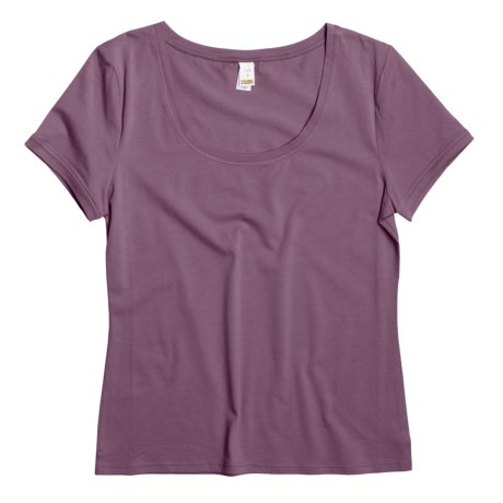 Calida Mix and Match T-Shirt - Stretch Cotton, Short Sleeve (For Women)