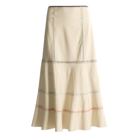 Two Star Dog Ribbon Skirt with Delicate Ribbon Trim (For Women)
