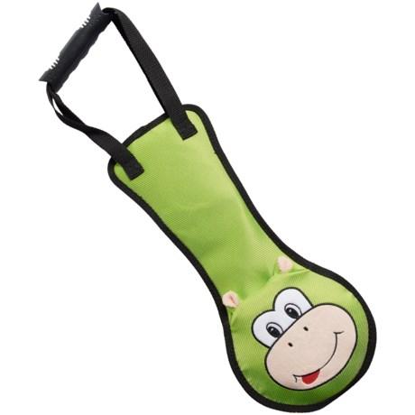 Pet Lou Tug-Me Monkey Dog Toy - Squeaker
