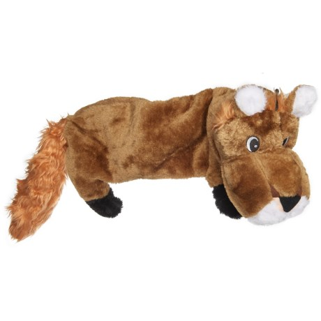 Pet Lou Flat Lion Dog Toy - 30""