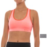 XOXO Strappy Back Seamless Sports Bra - Low Impact, Racerback, 2-Pack (For Women)