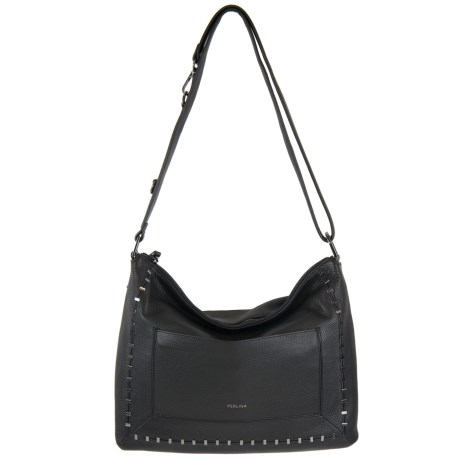 Perlina Stacey Slouchy Crossbody Bag - Leather (For Women)