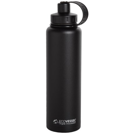 EcoVessel Bigfoot TriMax® Insulated Bottle - 45 fl.oz., Stainless Steel