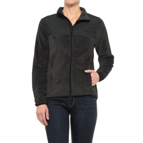 Urban Frontier Teddy Bear Fleece Jacket (For Women)