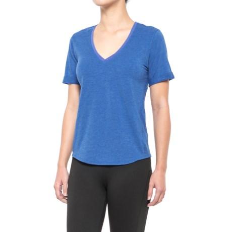 Lole Kesha T-Shirt - V-Neck, Short Sleeve (For Women)