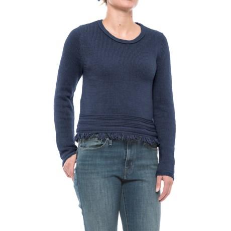 Artisan NY Fringe-Hem Sweater (For Women)