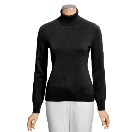 Cullen Cashmere Turtleneck Sweater (For Women)
