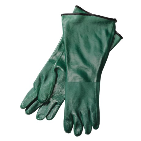 "Auclair Waterproof PVC Gloves - Insulated, 17""  (For Men)"
