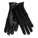 Auclair Cable-Knit Gloves - Leather, Lined (For Women)