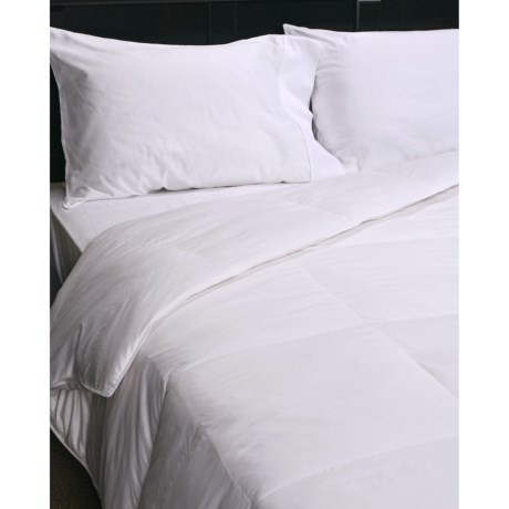 Blue Ridge Home Fashions Blue Ridge Home Appalachian II Sateen Down Comforter - Twin, 600-650 Fill Power, 300 TC