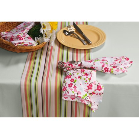 "DII Tablecloth Set - 10-Piece, 60x102"" Tablecloth"