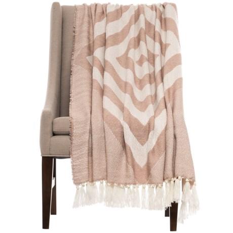 "Isaac Mizrahi Jesse Throw Blanket - 50x60"""