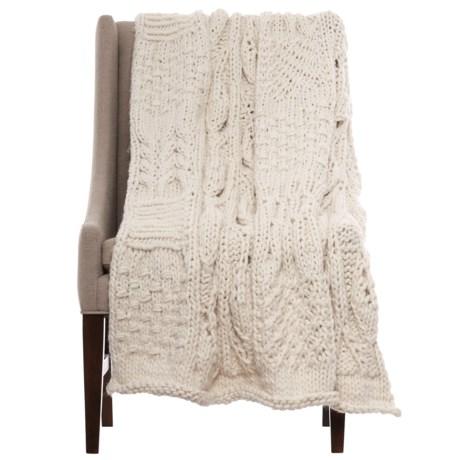"""Artisan de Luxe Jane Patchwork Throw Blanket - 40x60"""""""