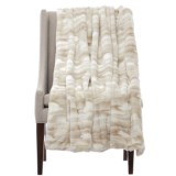 Artisan de Luxe Kylie Faux-Fur Throw Blanket - 50x60""