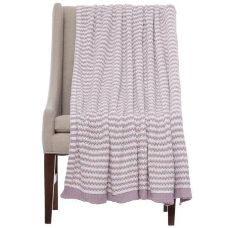 "Bella Lux Woven Stripe Throw Blanket - 50x60"""