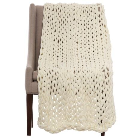 "Artisan de Luxe Mega-Link Throw Blanket - 50x60"""