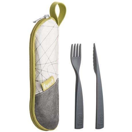 Fuel Cutlery Set - 2-Piece, Storage Pouch