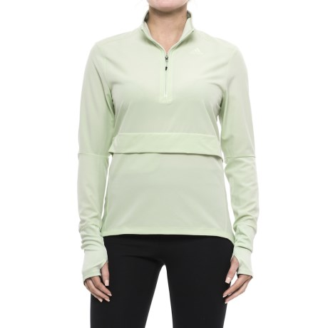 adidas Supernova Storm Shirt - Zip Neck, Long Sleeve (For Women)