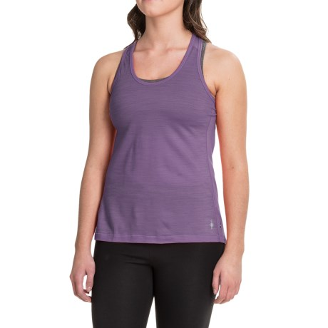 SmartWool PhD Ultralight Tank Top - Merino Wool, Racerback (For Women)