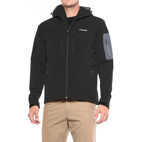 Sage Quest Soft Shell PrimaLoft® Hooded Jacket - Insulated (For Men)