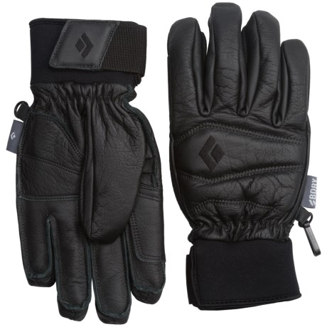 Black Diamond Equipment Spark PrimaLoft® Leather Gloves - Waterproof, Insulated (For Women)
