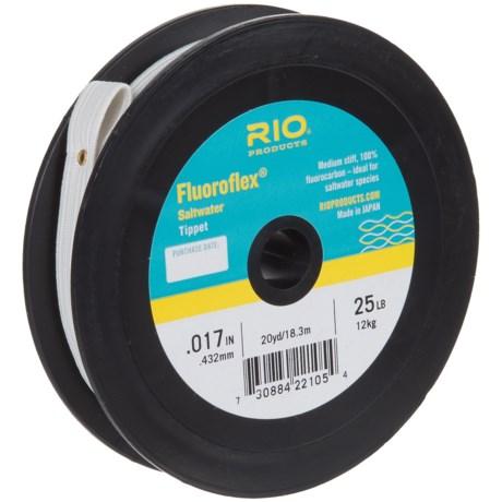 Rio Fluoroflex Saltwater Tippet - 20-25 yds.