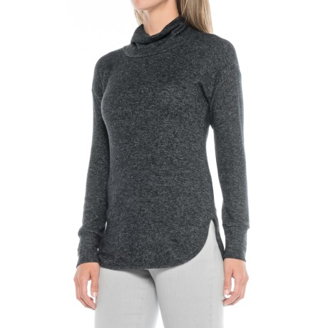 B Collection by Bobeau Melanie Cowl Neck Shirt - Long Sleeve (For Women)