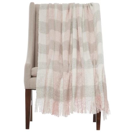 """Luxe Habitat Moxie Throw Blanket - 50x60"""""""