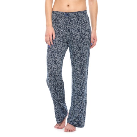 Nicole Miller Picot Pajama Pants (For Women)