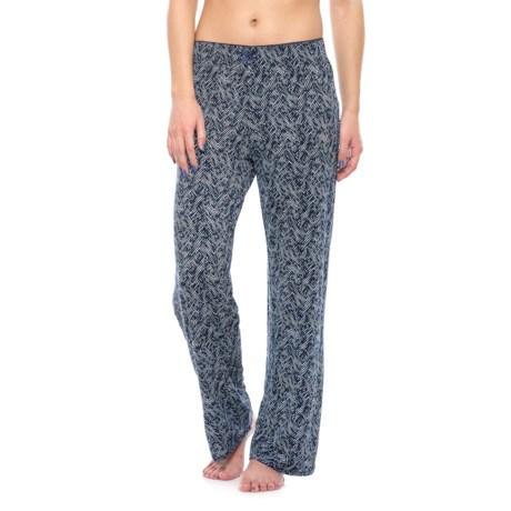 Nicole Miller Picot Pajama Pants (For Women)