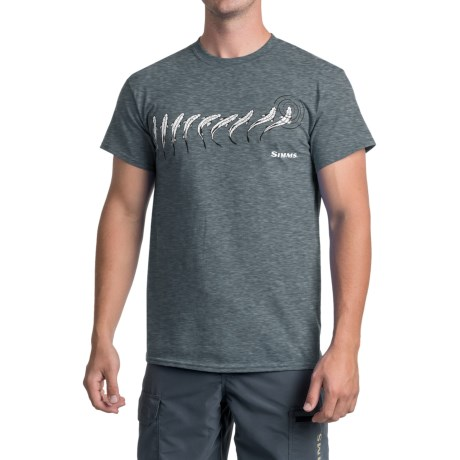 Simms Sipping Trout T-Shirt - Short Sleeve (For Men)