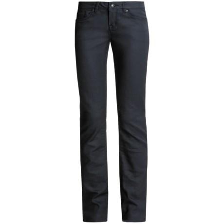 Buffalo Jeans Dark Denim Jeans - Straight Leg (For Women)