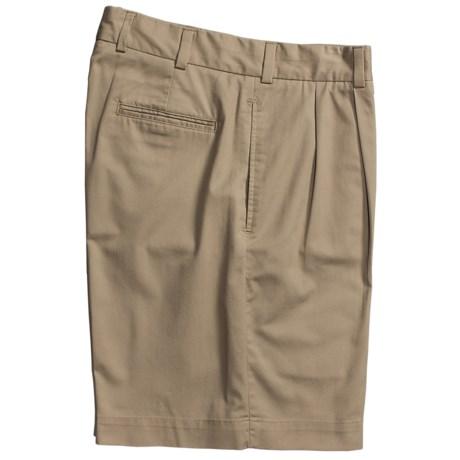 Bills Khakis M2P Tropical Twill Shorts -Reverse Pleat (For Men)