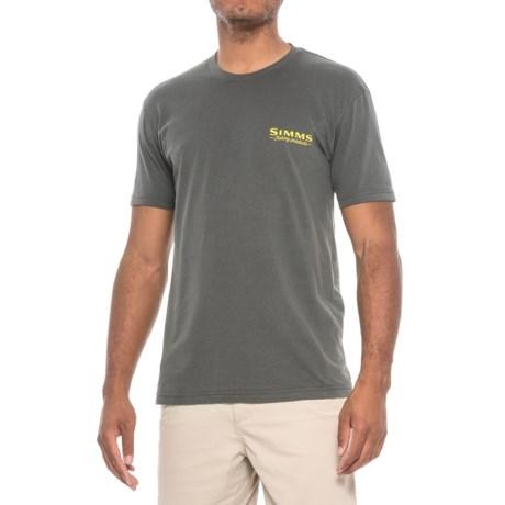 Simms Weekend Trout T-Shirt - Short Sleeve (For Men)