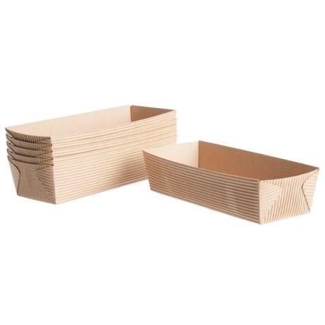 "Welcome Home Brands Baking Loaf Pans - Set of 6, 7"" Rectangle"