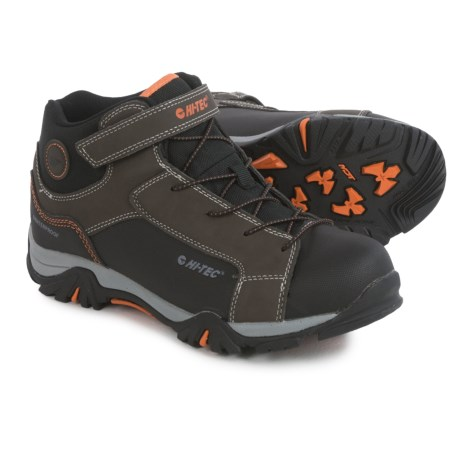 Hi-Tec Trail Ox Mid Hiking Boots - Waterproof (For Big Kids)